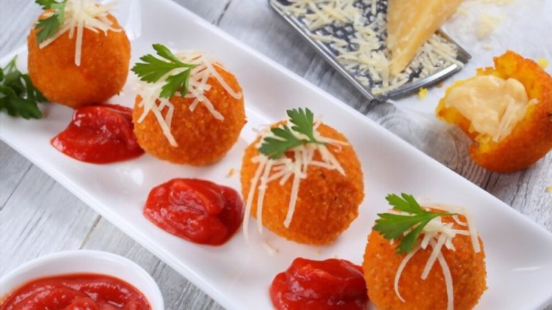 New Italian Recipe How To Cook Arancini Rice Balls Recipe In 2021 Must Try